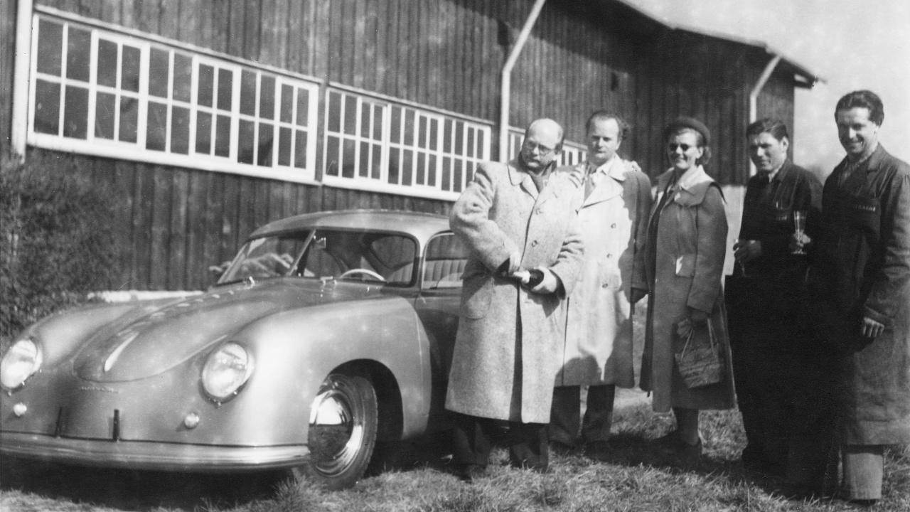 Porsche παράδοση παραλαβή