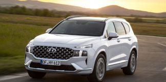 2020 ανανεωμένο Hyundai Santa Fe