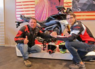 Μητσάκης 2 generations ride 2020 balkan tour