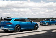 2020 Volkswagen Aerton νέο Shooting Brake