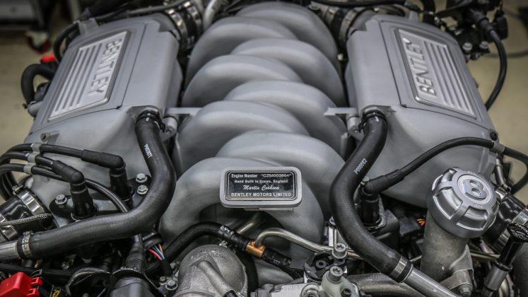 Bentley V8 τέλος παραγωγής