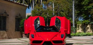 Ferrari Enzo ρεκόρ δημοπρασία 2020 online