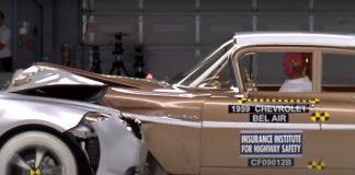 Αυτοκίνητο σύγκρουση crash test IIHS