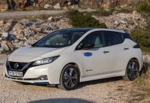 Nissan Leaf δοκιμή Traction 2020