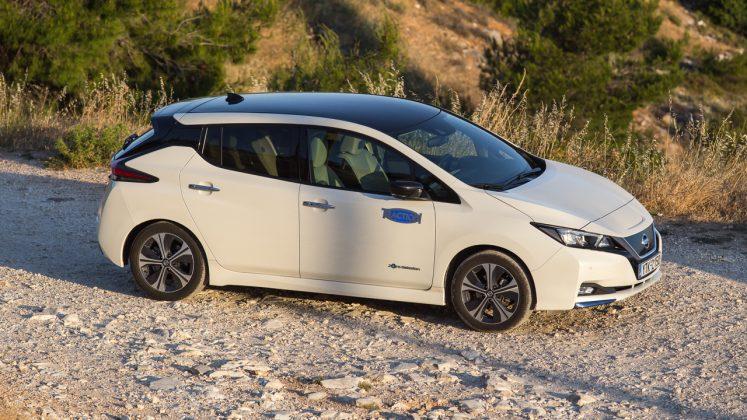 Nissan Leaf δοκιμή Traction 2020