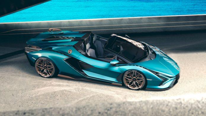 2020 Lamborghini Sian Roadster