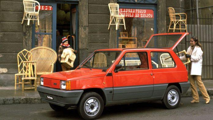 Fiat Panda 40 χρόνια επέτειος