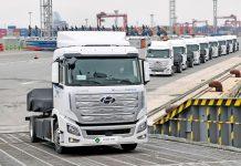 2020 Hyundai XCIENT Fuel Cell