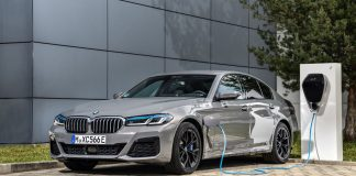 BMW 545 e xDrive plug-in