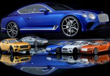 2020 Bentley Continental GT Μινιατούρα