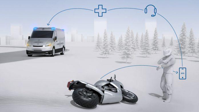 Bosch Help Conect, Ασφάλεια, μοτοσυκλετιστές εφαρμογή