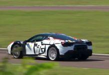 Υβριδικό Ferrariδοκιμές Fiorano 2020