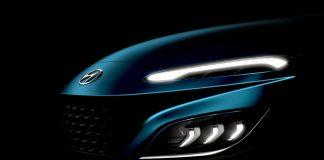 2020 Hyundai Kona teaser σχέδια