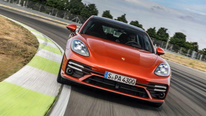 2020 ανανεωμένη Porsche Panamera