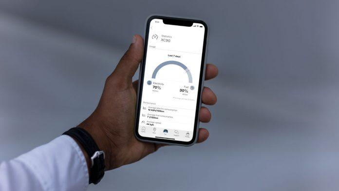 Volvo on Call εφαρμογή