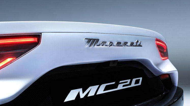 2020 Maserati MC20