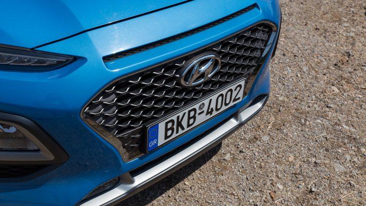 Hyundai Kona Hybrid 2020 traction δοκιμή