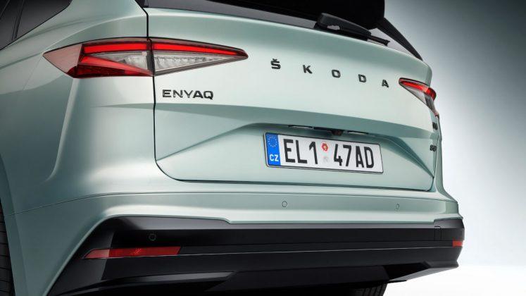 2021 Skoda Enyaq iV ηλεκτρικό
