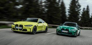 BMW M3 sedan και M4 Coupe 2020