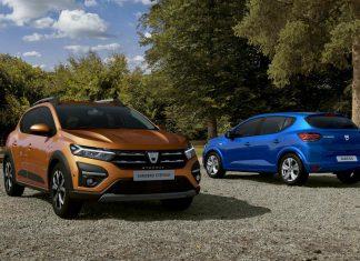 Dacia Sandero και Sandero Stepway 2021