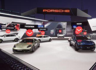 Porsche εικονικό περίπτερο 2020 Πεκίνο