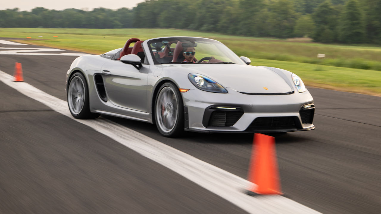 Porsche ρεκόρ guinness chloe chambers