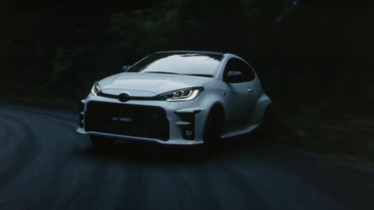 Toyota GR Yaris drift video