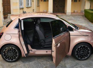 νέο ηλεκτρικό Fiat 500 3+1 2020