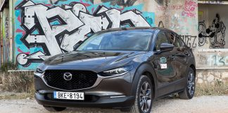 Δοκιμή Mazda CX-30 180 PS traction.gr