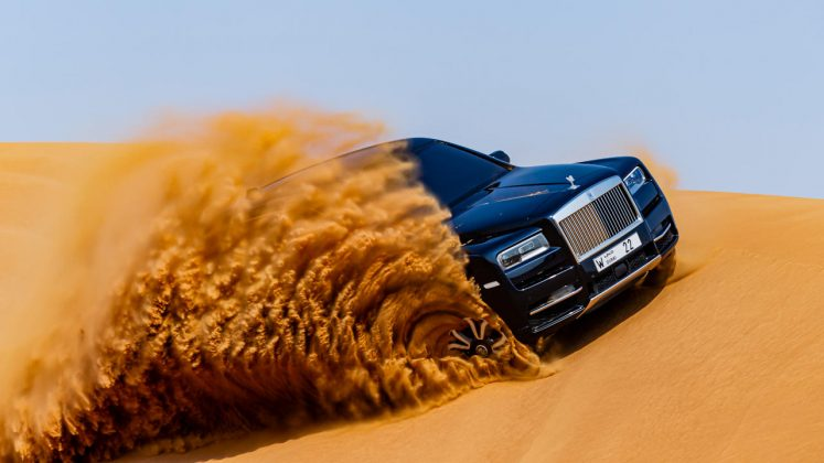 Rolls-Royce Cullinan Video έρημος 2020