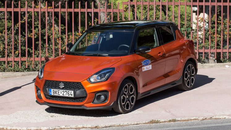 Suzuki Swift Sport Traction δοκιμή 2020
