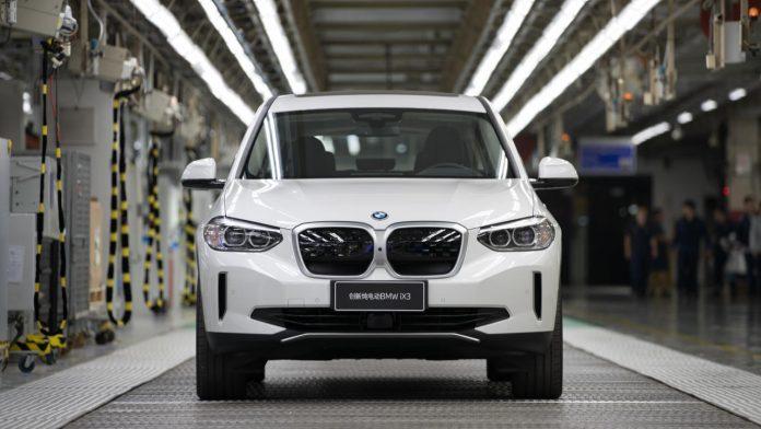 BMW iX3 ηλεκτρικό παραγωγή Κίνα