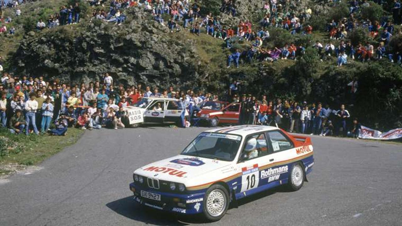 BMW M3 WRC νίκη στο WRC 1987