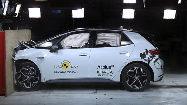 VW ID.3 Euro NCAP Crash Test 2020