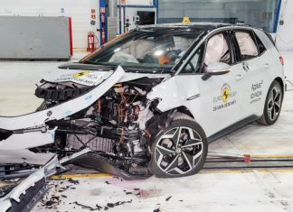VW ID.3 Euro NCAP Crash Test 2020