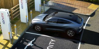 Ford Mustang-E δίκτυο φόρτισης