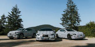 Mercedes-Benz EQ νέα ηλεκτρικά μοντέλα