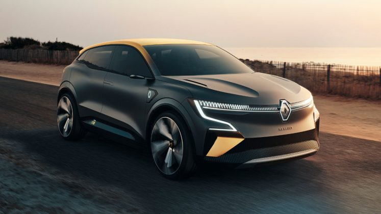 Renault Mégane eVision 2020