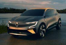 Renault Megane e vision