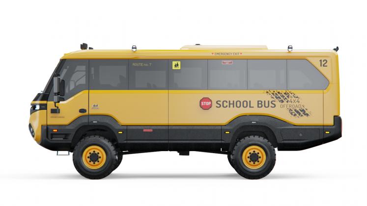 Torsus Praetorian σχολικό λεωφορείο 2020