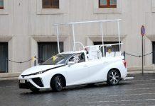 Toyota Mirai Pope Mobile 2020 Βατικανό