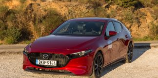 Mazda3 δοκιμή traction test 2020