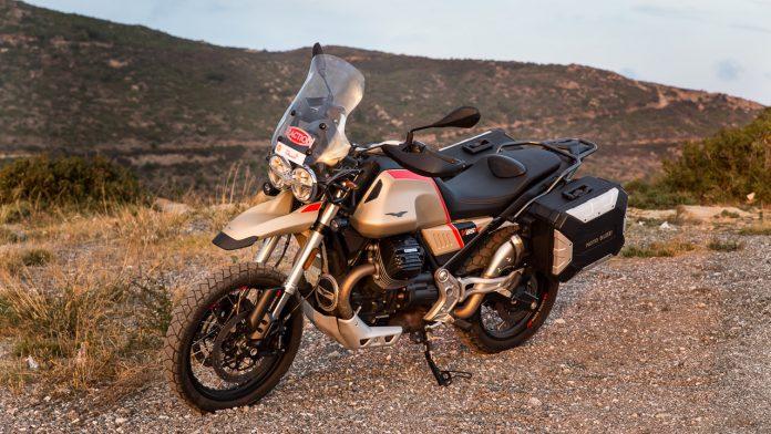 Moto Guzzi V85 TT Travel Edition δοκιμή Traction 2020