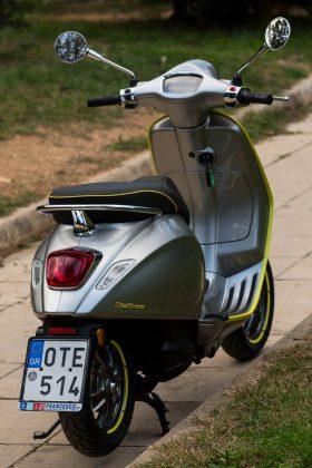 Vespa Elettrica δοκιμή Traction 2020