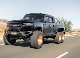 Rezvani Hercules 6X6 2020 pick up