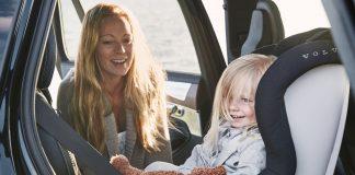 Volvo παιδικά καθίσματα ασφάλεια συμβουλές