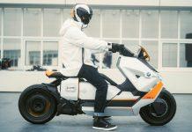 BMW Definition CE 04 Νέο ηλεκτρικό scooter 2021