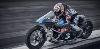 Max Biaggi Voxan Wattman ηλεκτρικά ρεκόρ ταχύτητας
