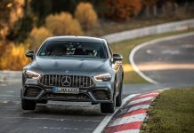 Mercedes-AMG GT 63 S 4MATIC+ ρεκόρ Nurburgring 2020