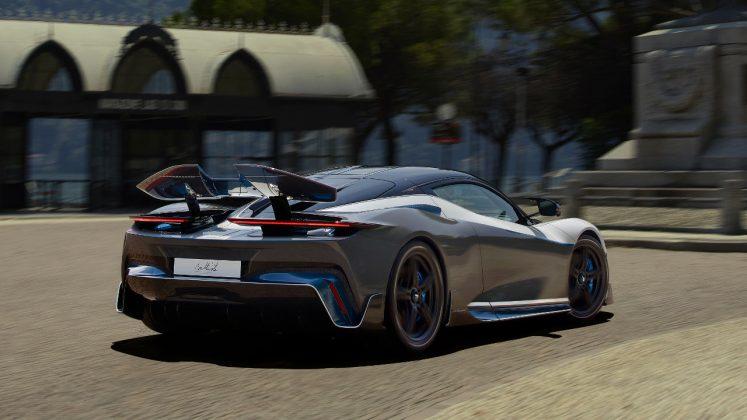 Pininfarina Battista τεχνολογία συνδεσιμότητα 2020